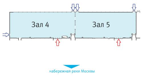 Экспоцентр на Красной Пресне.